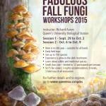 Fabulous Fall Fungi 2015 - poster