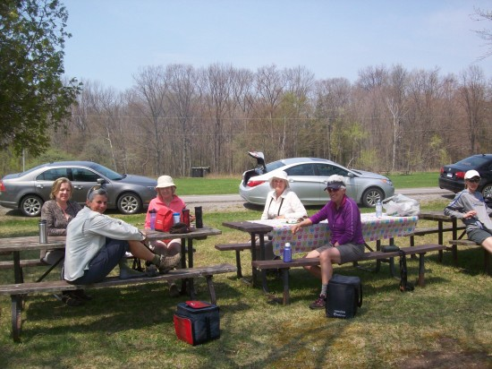 Lunch Time Presqu'ile Park May 2015