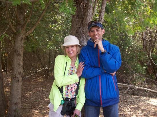 Maureen & Jon Presqu'ile park May 2015